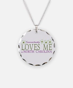 Somebody loves me in NC Necklace