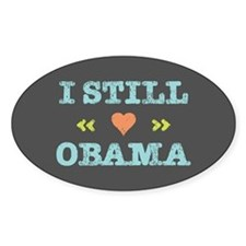 Still Heart Obama Decal