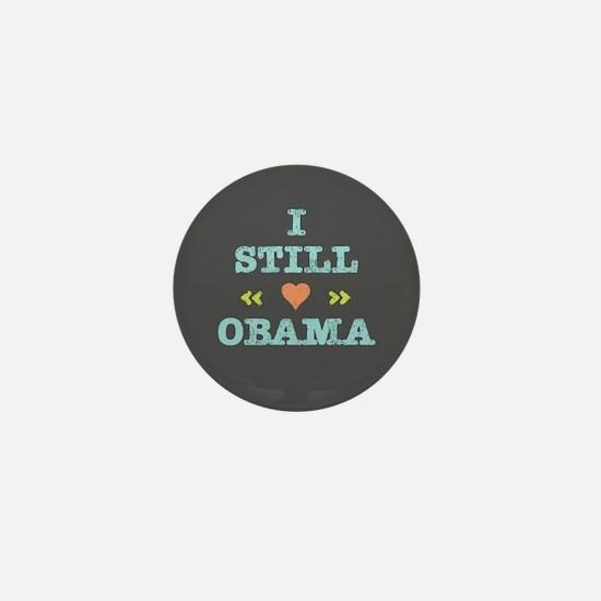 Still Heart Obama Mini Button