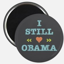 Still Heart Obama Magnet