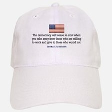 Quote Democracy Cap