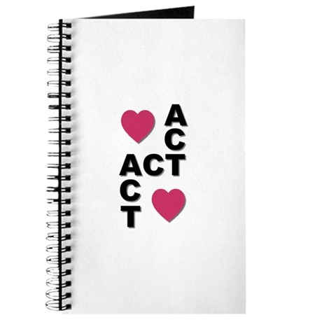 """""""Act Act Act"""" Journal"""