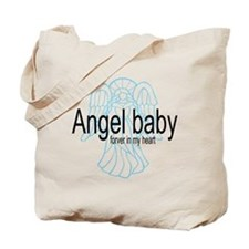 Angel Baby in My Heart Tote Bag
