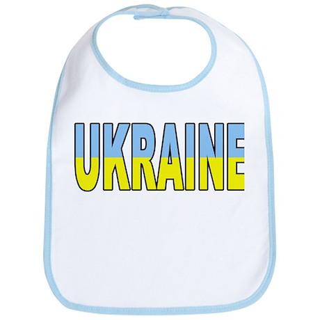 Ukraine World Cup Soccer Flag Bib