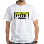Too Good For You NJ White T-Shirt