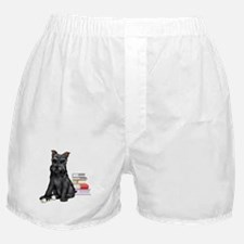 puppy graduate Boxer Shorts