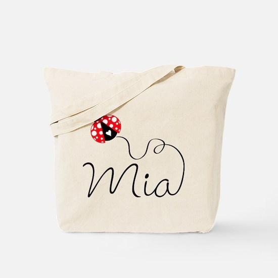 Ladybug Mia Tote Bag