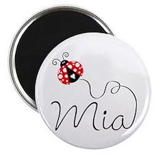 Ladybug Mia Magnet