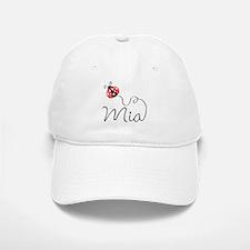 Ladybug Mia Baseball Baseball Cap