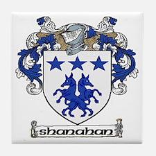 Shanahan Coat of Arms Ceramic Tile