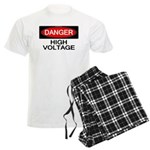 Danger! High Voltage Men's Light Pajamas
