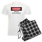 Danger! High Voltage Men's Light Pajamas