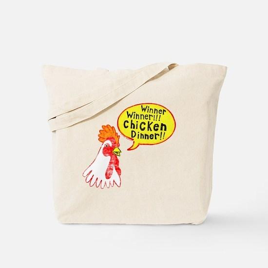 Winner Chicken Dinner Tote Bag