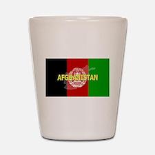 Afghanistan Flag Extra Shot Glass