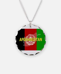 Afghanistan Flag Extra Necklace