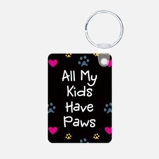 All My Kids/Children Have Paws Keychain Keychains