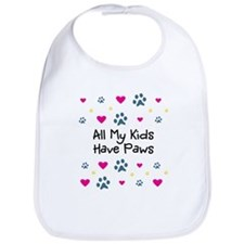 All My Kids/Children Have Paws Bib