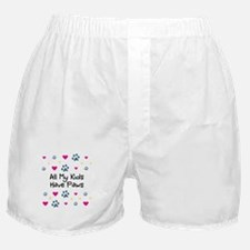 All My Kids/Children Have Paws Boxer Shorts