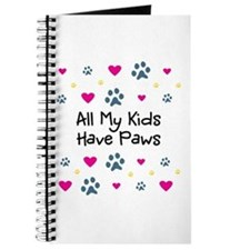 All My Kids/Children Have Paws Journal