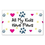 Children fur paws Single