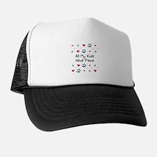 All My Kids/Children Have Paws Trucker Hat