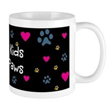 All My Kids/Children Have Paws Small Mug
