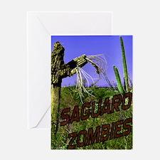 Saguaro Zombies Zombie 2 Greeting Card
