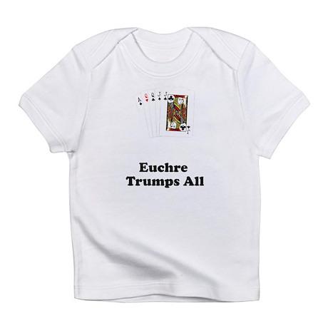 Poker Euchre Deal Shirt T-shi Infant T-Shirt