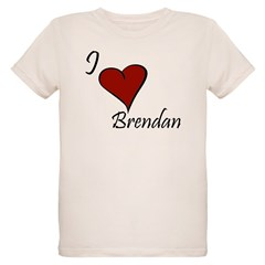 I love Brendan Organic Kids T-Shirt