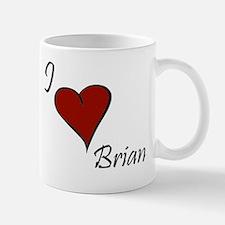 I love Brian Mug