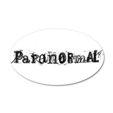 Paranormal 22x14 Oval Wall Peel