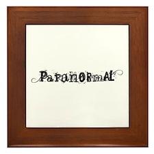 Paranormal Framed Tile