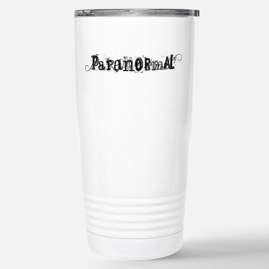 Paranormal Stainless Steel Travel Mug