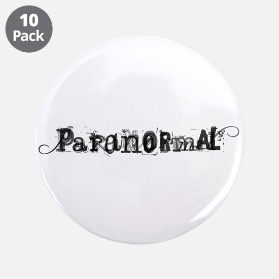 """Paranormal 3.5"""" Button (10 pack)"""