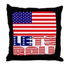 LETS ROLL Throw Pillow