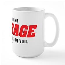 NO ROID RAGE Mug