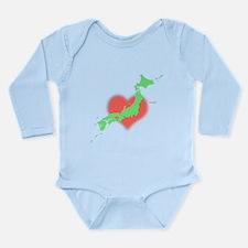 Love Japan 2011 Long Sleeve Infant Bodysuit