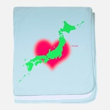 Love Japan 2011 baby blanket