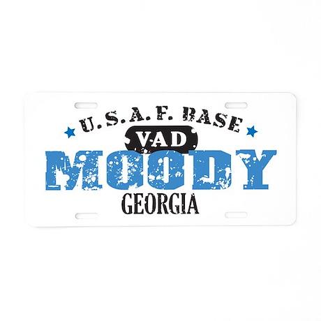 Moody Air Force Base Aluminum License Plate