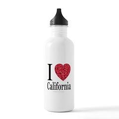 Great Heart Designs Water Bottle