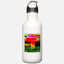 Crimson Tide Mushroom Water Bottle