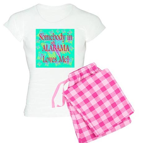 Somebody in Alabama Loves Me! Women's Light Pajama