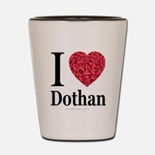 I Love Dothan Shot Glass