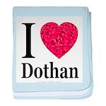 I Love Dothan baby blanket