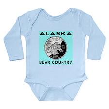 Alaska Bear Country Long Sleeve Infant Bodysuit