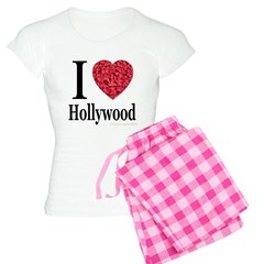 I Love Hollywood Pajamas