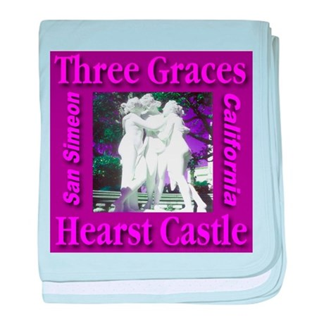 Three Graces Purple Passion baby blanket