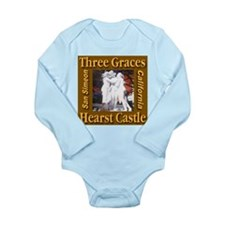 Three Graces Golden Sepia Long Sleeve Infant Bodys