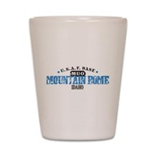 Mountain Home Air Force Base Shot Glass