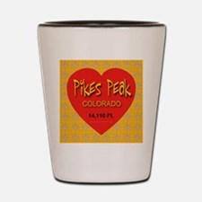 Pikes Peak Colorado Shot Glass